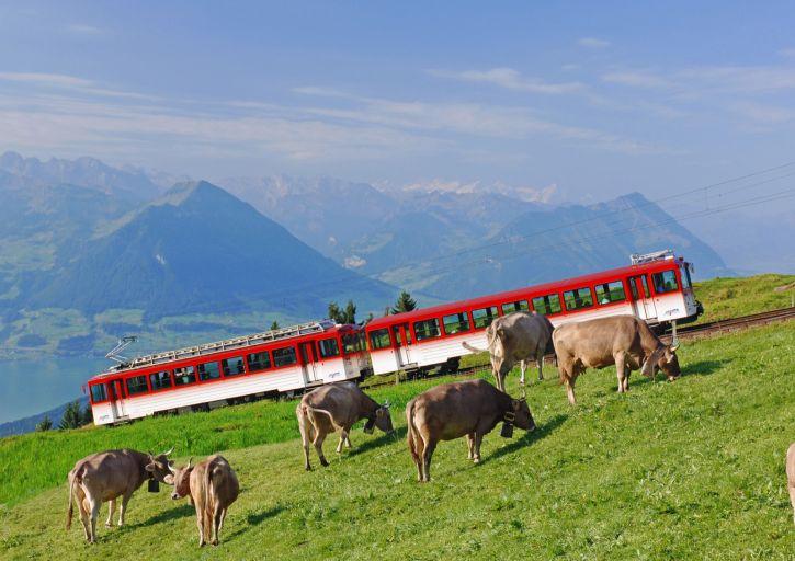 Rigibahn von Vitznau